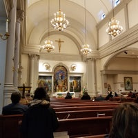 Photo taken at Church of Saint Agnes by Chris S. on 11/14/2016