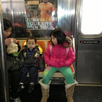 Photo taken at MTA Subway - B Train by Albert S. on 1/28/2013