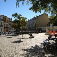 Photo taken at Largo Das Belas Artes by BeefBamia on 10/28/2012