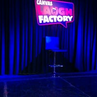 Photo taken at Canvas Laugh Factory by Srishti A. on 7/4/2013