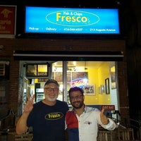 Photo taken at Fresco's Fish & Chips by Ozgur S. on 9/23/2015