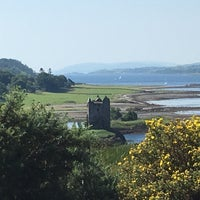 Photo taken at Castle Stalker View Cafe by Adrian R. on 8/16/2016