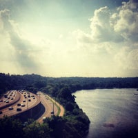 Photo taken at Connecting Railway Bridge by John M. on 7/18/2013