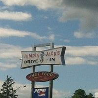 Photo taken at Jumpin' Jacks Drive-In by Daisy R. on 8/17/2013