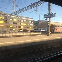 Photo taken at Bahnhof Rotkreuz by Isaac v. on 9/3/2013