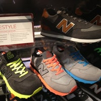 Photo taken at New Balance NYC Flagship Store by Billy B. on 11/18/2012
