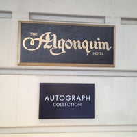Photo taken at Algonquin Hotel, Autograph Collection by Billy B. on 10/22/2012