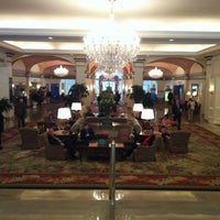 Photo taken at Omni Shoreham Hotel by Ryan S. on 5/14/2013