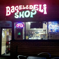 Photo taken at Bagel & Deli Shop by Ryan K. on 9/6/2011