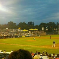 Photo taken at Arm & Hammer Park by Ashley P. on 8/10/2011