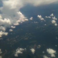 Photo taken at On the plane and in the air! by Caro C. on 7/31/2011