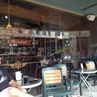 Photo taken at King Corona Cigars Cafe & Bar by Richard F. on 7/4/2012