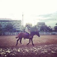 Photo taken at ศูนย์ฝึกขี่ม้า ร.21 รอ. by Tum M. on 11/23/2013