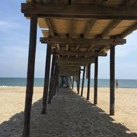 Photo taken at Avon Fishing Pier by Angelina B. on 7/22/2015