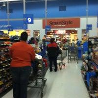 Photo taken at Walmart Supercenter by Victoria M. on 1/22/2013