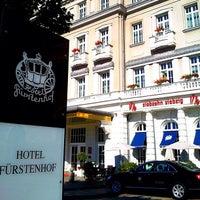 Photo taken at Hotel Fürstenhof by Christian K. on 9/16/2012
