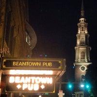 Photo taken at Beantown Pub by Vittorio S. on 10/21/2013