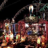 Photo taken at Christmas Light Display (christmasdisplay.org) by Maria P. on 12/24/2016