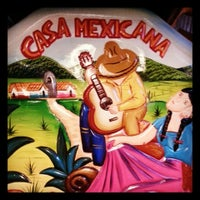 Photo taken at La Casa Mexicana by Alfredo M. on 9/1/2013