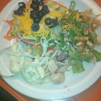 Photo taken at Sweet Tomatoes by Dennis H. on 8/19/2015