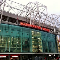 Photo taken at Old Trafford by Jonata D. on 1/30/2013