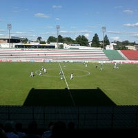 Photo taken at Estádio Vermelhão da Serra by Daniel G. on 3/29/2013