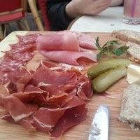Photo taken at Brasserie de la Bourse by Ronalds B. on 3/7/2014