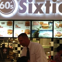 Photo taken at Sixties Burger by Christobal B. on 5/11/2013
