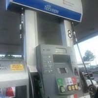 Photo taken at Chevron by Thomas B. on 8/11/2013