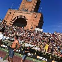 Photo taken at Stadio Renato Dall'Ara by Antonio D. on 6/22/2013