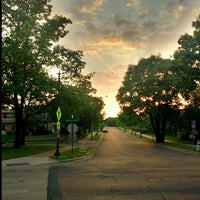 Photo taken at West River Parkway by Santa E. on 8/26/2013