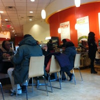 Photo taken at Au Bon Pain by Andres U. on 3/17/2014