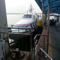 Photo taken at Berjaya Waterfront Ferry Terminal by Azmy B. on 7/6/2013