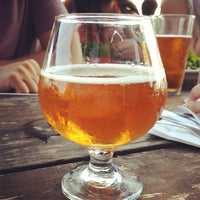 Photo taken at Black Star Co-op Pub & Brewery by Melody F. on 7/21/2013