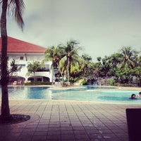 Photo taken at Orchid Country Club Swimming Pool by Qinghui L. on 10/14/2013