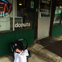 Photo taken at St. Louis Hills Donut Shop by Shelley S. on 6/28/2014