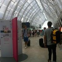 Photo taken at Gare SNCF de Montpellier Saint-Roch by Tiphaine on 7/28/2013