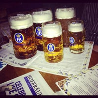 Photo taken at Hofbräuhaus Las Vegas by Randi R. on 10/28/2012