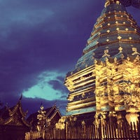 Photo taken at Wat Phrathat Doi Suthep by Georgiy T. on 5/25/2013