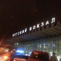 Photo taken at Kursky Rail Terminal by Roman on 5/6/2013