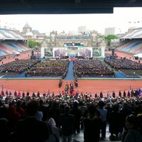 Photo taken at Franklin Field by Michael C. on 5/13/2013