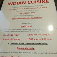Photo taken at Indian Cuisine by Melinda F. on 7/16/2016
