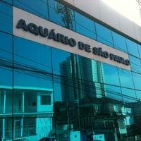 Photo taken at Aquário de São Paulo by Marcos V. on 5/2/2013