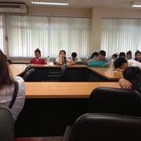 Photo taken at ตึกการศึกษาพิเศษ อาคาร23  CMRU by Ying On &. on 6/11/2013