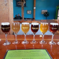 Photo taken at Hair of the Dog Brewery & Tasting Room by Steve S. on 4/19/2013