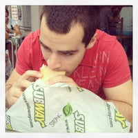 Photo taken at Subway by Caroline D. on 8/8/2013