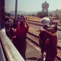 Photo taken at Stasiun Prupuk by Riosetiawan on 10/15/2013