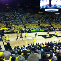 Photo taken at Crisler Center by Eric Z. on 12/8/2012