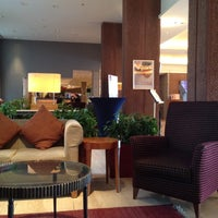 Photo taken at Sheraton Skyline Hotel by Kim M. on 9/19/2012