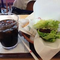 Photo taken at モスカフェ 西銀座店 by 江東橋 on 5/21/2013